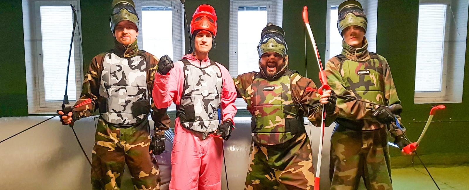 Spela Archery Tag hos oss