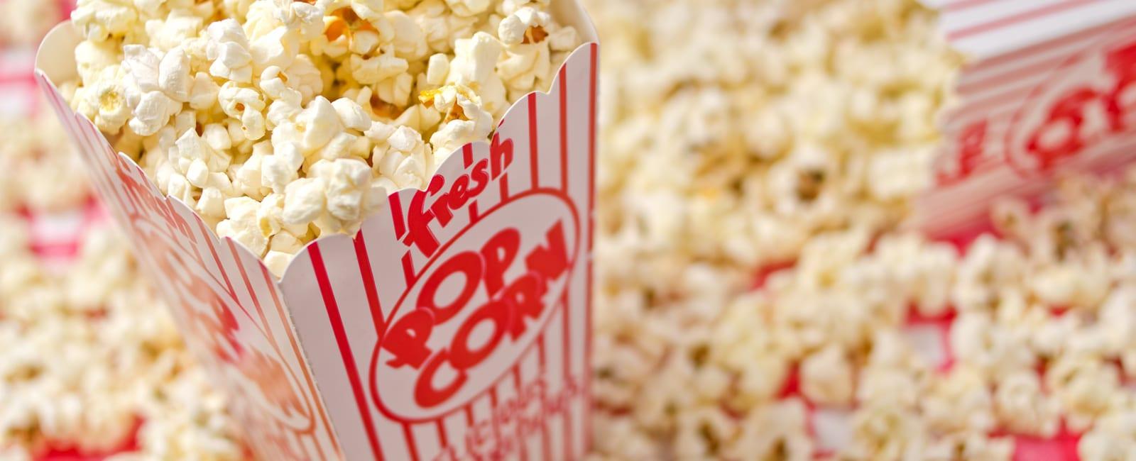 Hyr hem Popcornmaskin